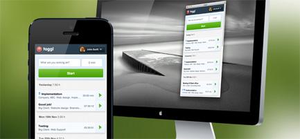 Toggl Online Timer, Multi-Platform