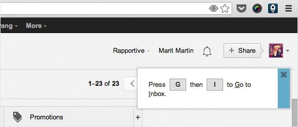 Gmail KeyRocket