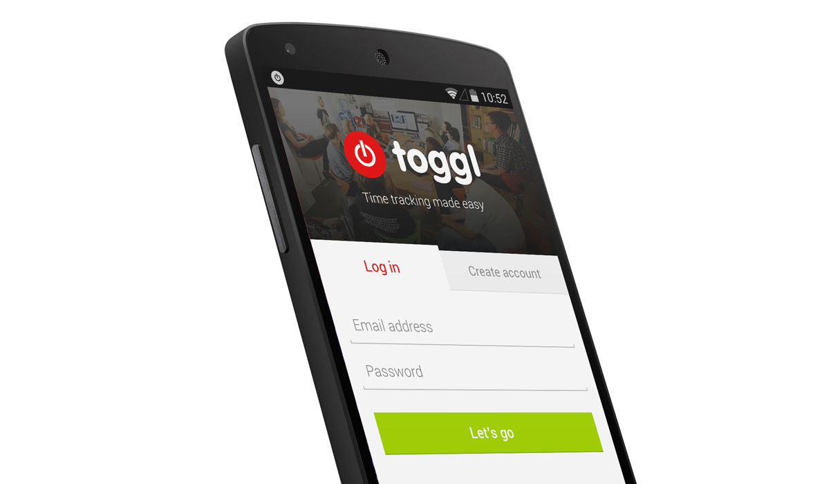 New Toggl Android App