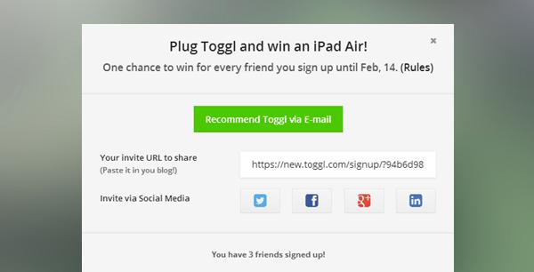 Plug Toggl Campaign Lessons, Case Study