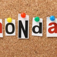Mondays, right?