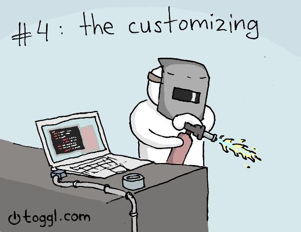 04 - programmer comic custom code