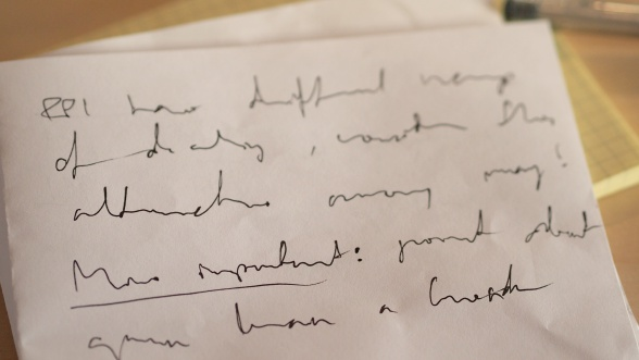 Doctor's handwriting