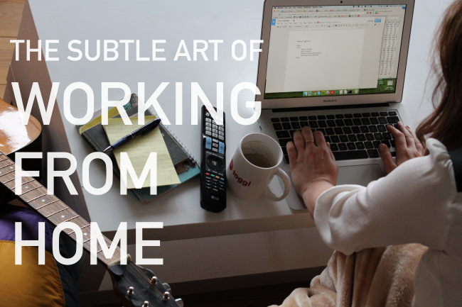 Tips For Working From Home ...