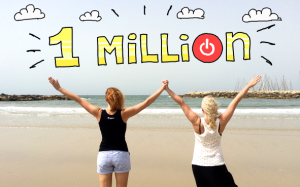 toggl one million users