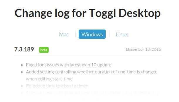 toggl-desktop-changelog