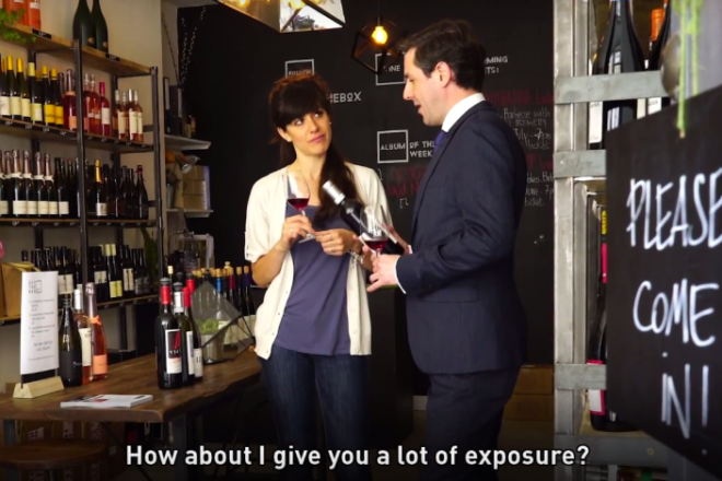 What happens when you treat people like bad clients treat designers (video)