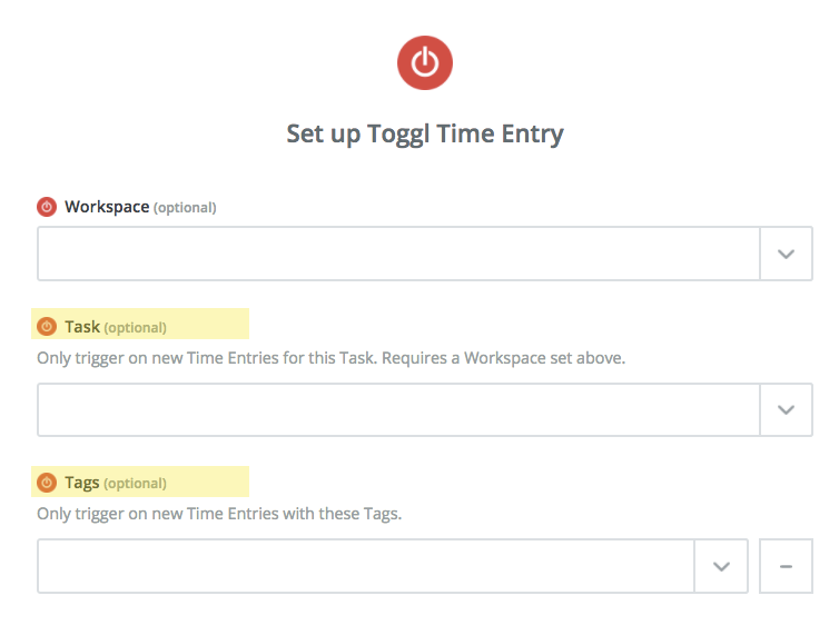 adding tasks and tags to automatic toggl time entries
