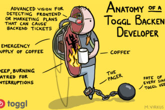 Anatomy of a Toggl Job #1 – The Backend Developer