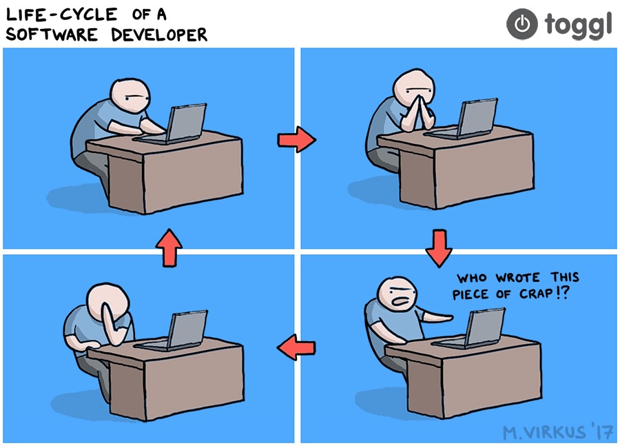 Life Cycle of a Software Developer - Toggl