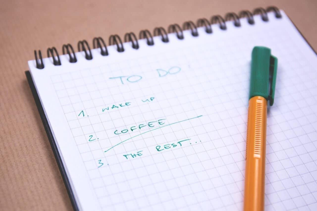 make a list