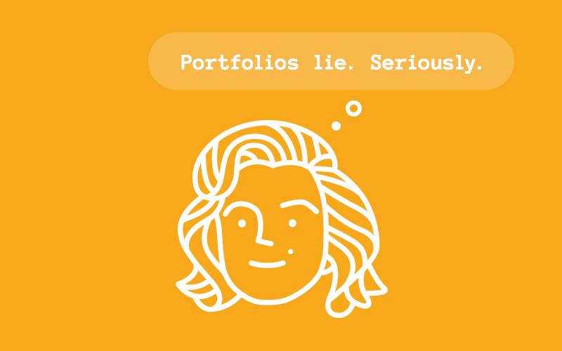 Portfolio is a lie
