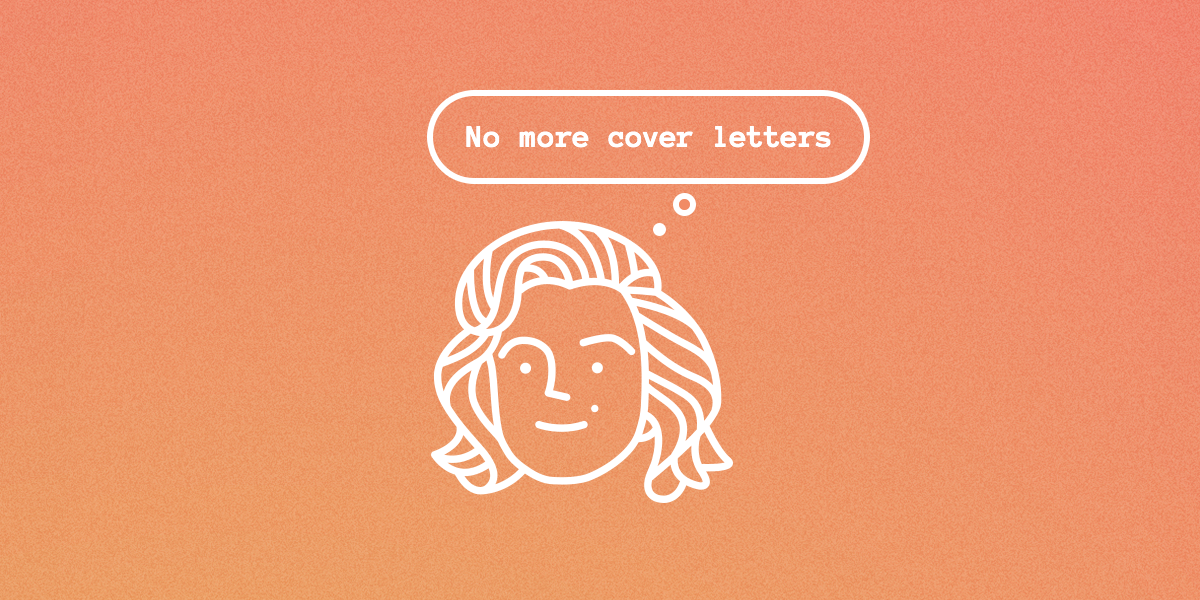 Hire without cover letter, recruiting without cover letter
