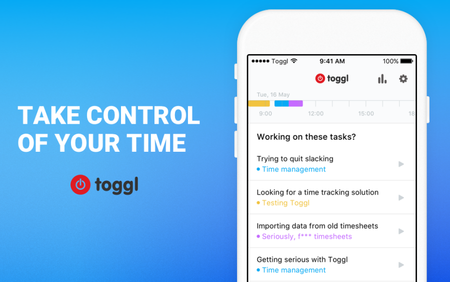 The new Toggl iPhone app coming in 2017