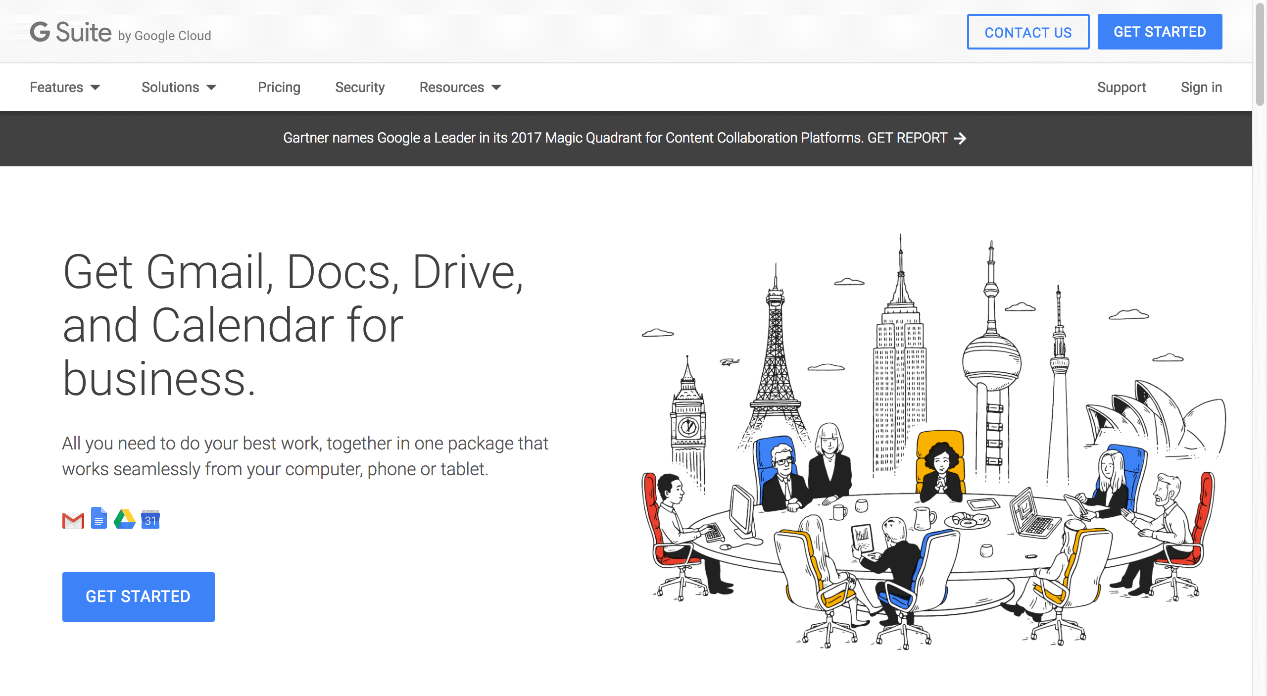gsuite distributed teams