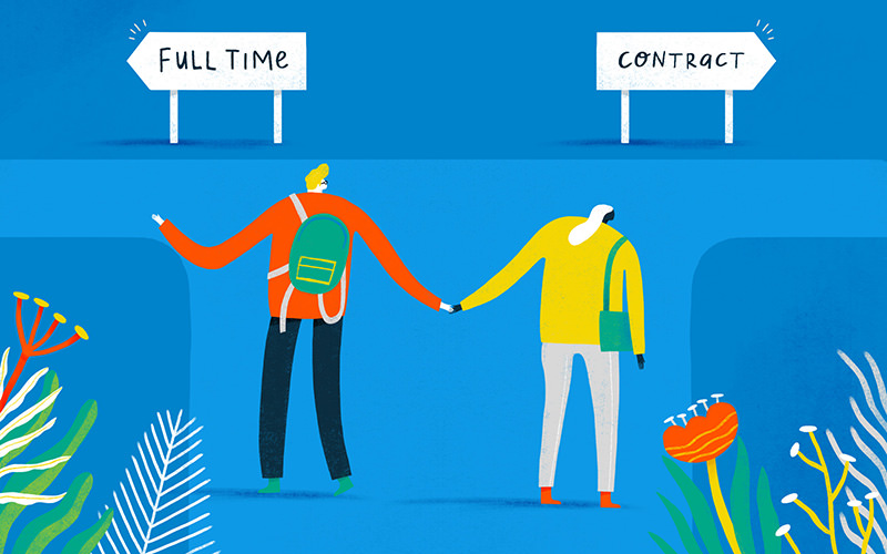 Contract vs. Full-Time Employees: How to Make the Right Decision ...