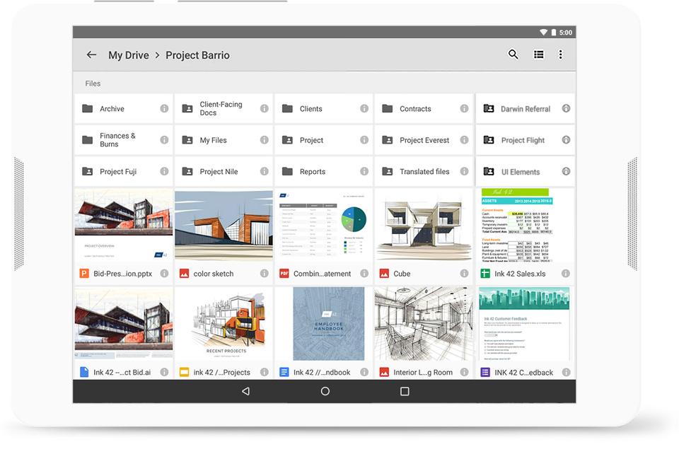 Team Collaboration Tool: GSuite screenshot