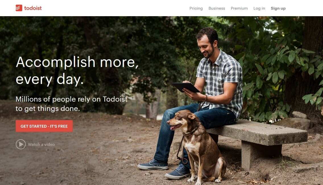 todoist-frontpage