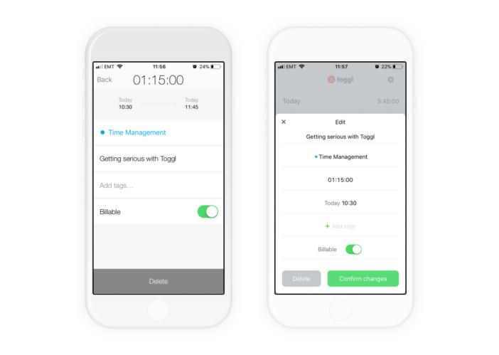 Toggl IOS App Screenshots V2 702x499