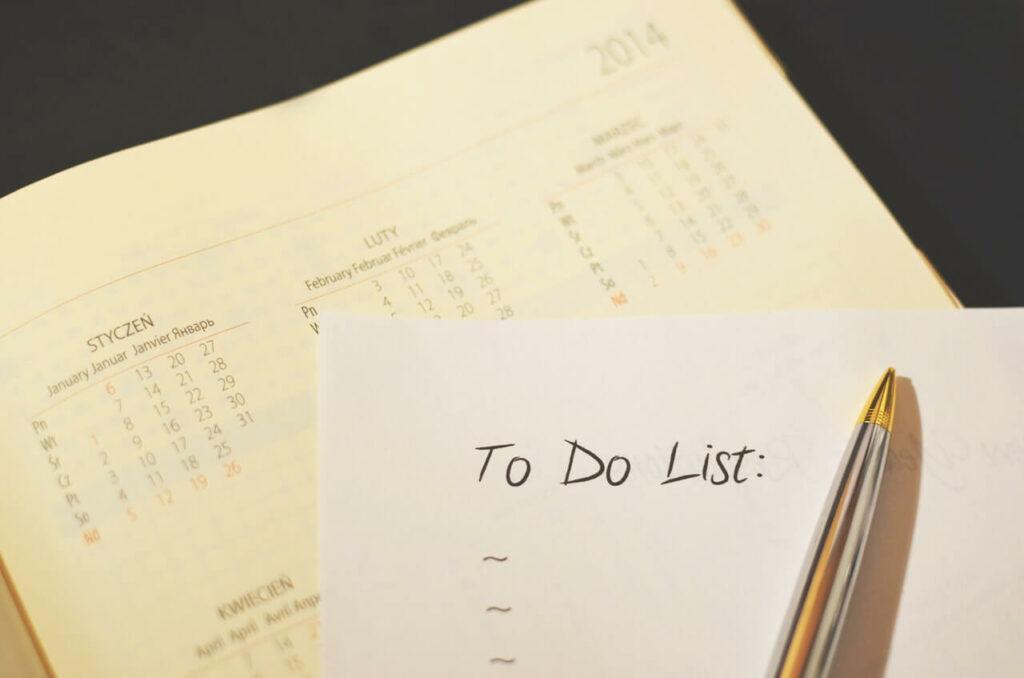 Pen Calendar To Do Checklist 1024x678