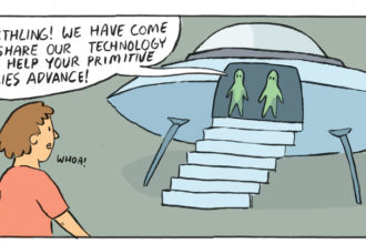 What Alien Technology Looks Like in a Parallel Universe [Comic]