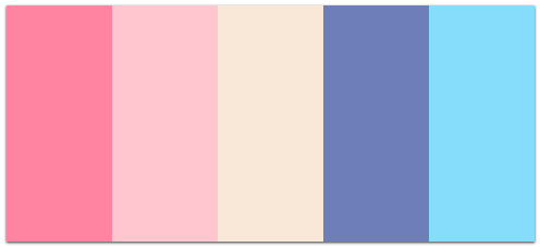 Brand Book Color Palette example