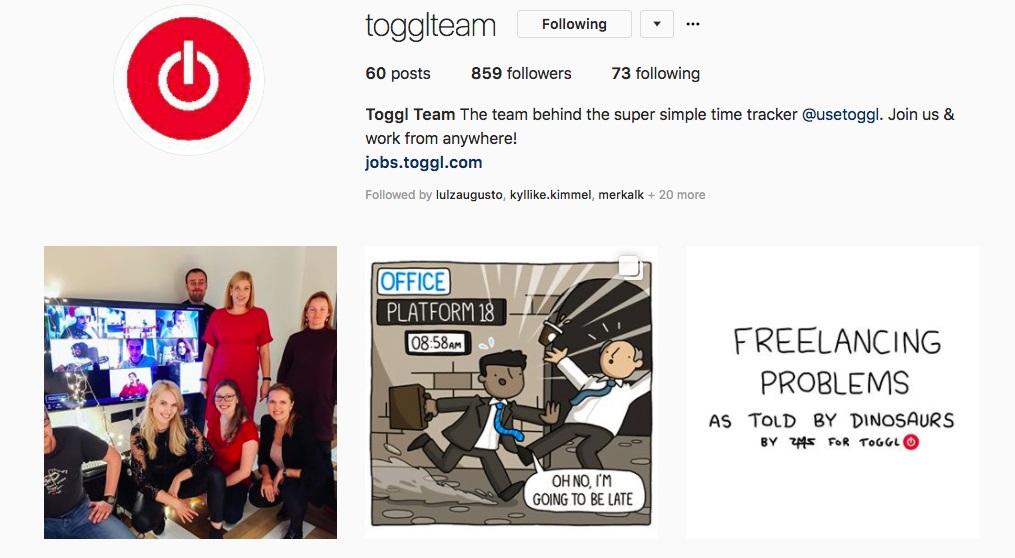 toggl team