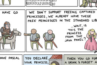 How To Save The Princess in 8 Programming Languages [Comic]