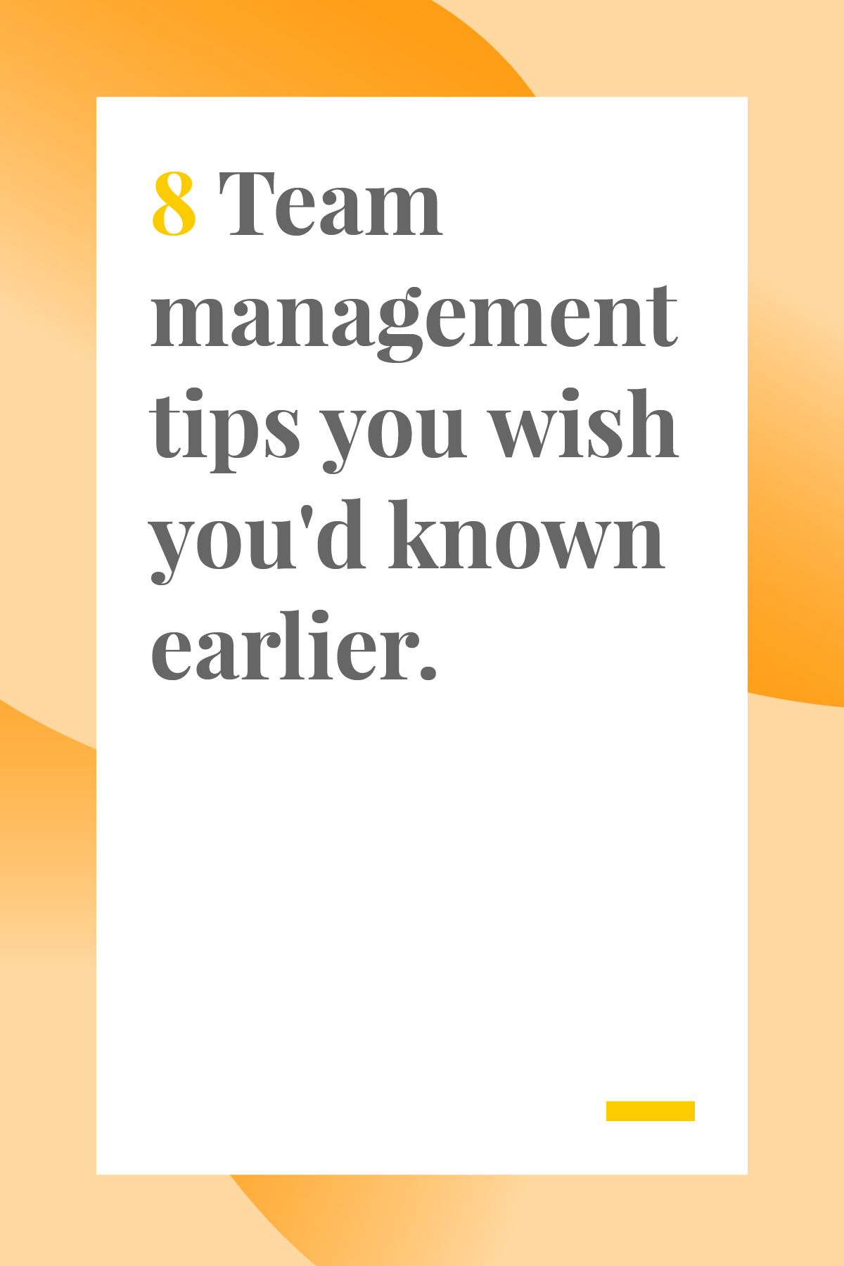 If you're managing a team, these tips and tricks will help you keep everyone organized and motivated. #projectmanagement