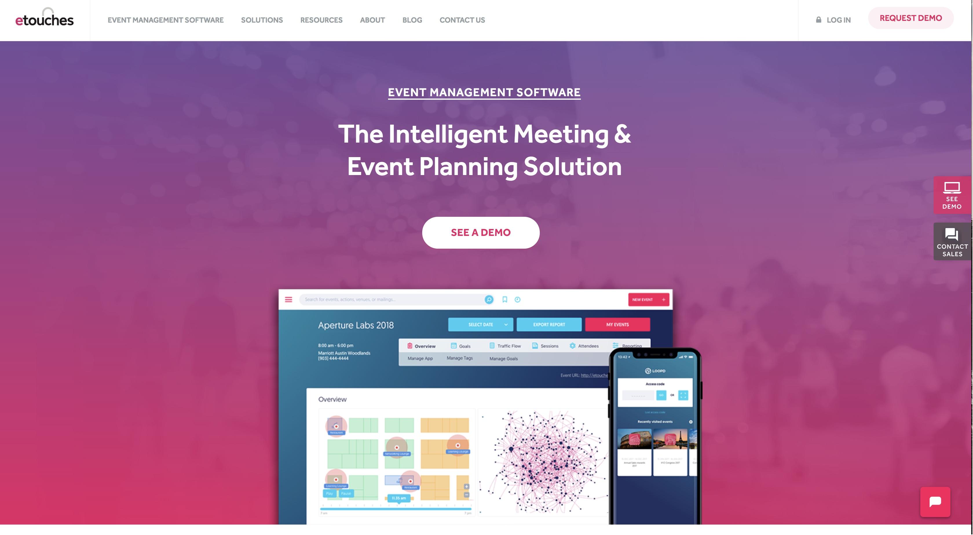 online event management software