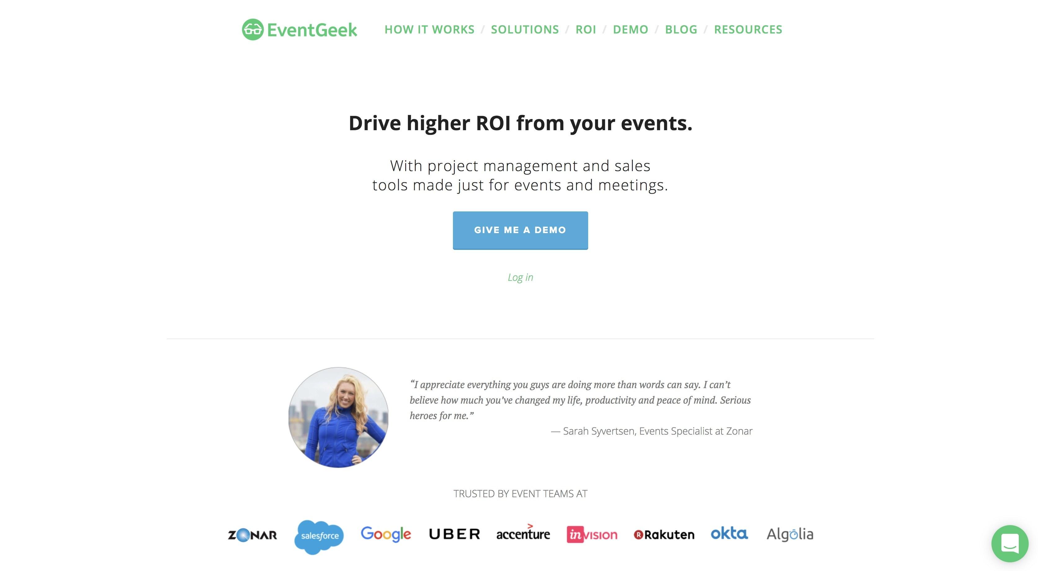 event planning software event geek