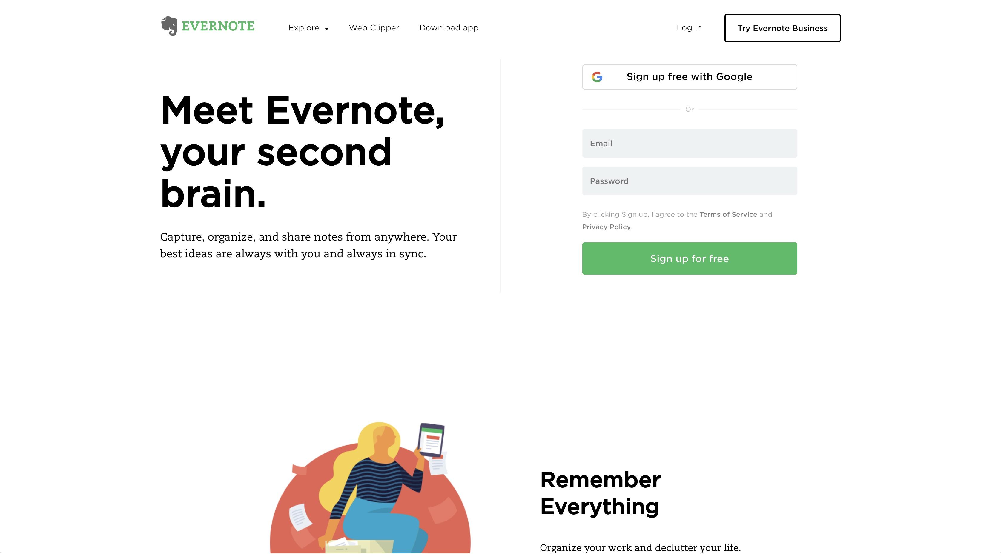 time management skills Evernote