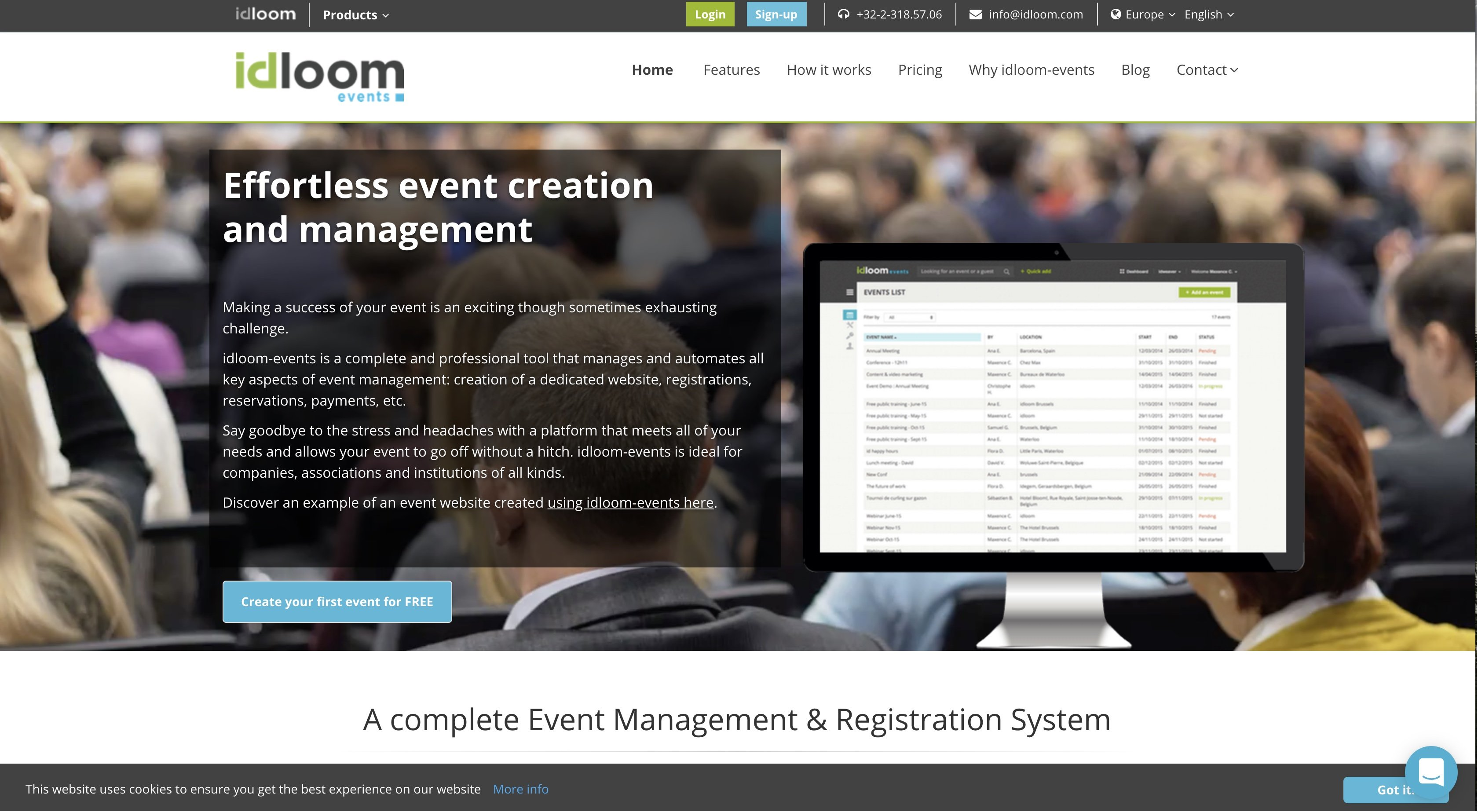 event planning software for event planners