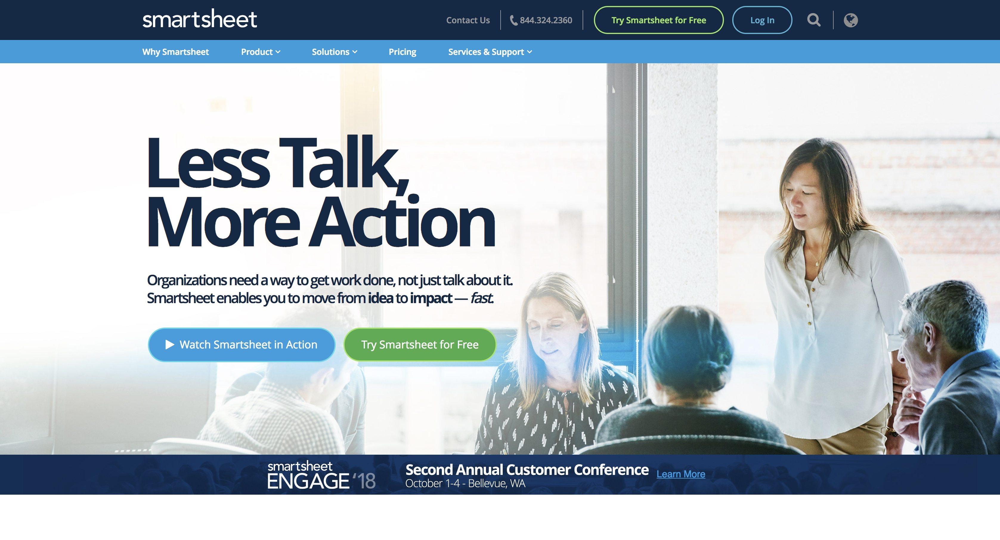 project planning apps smartsheet
