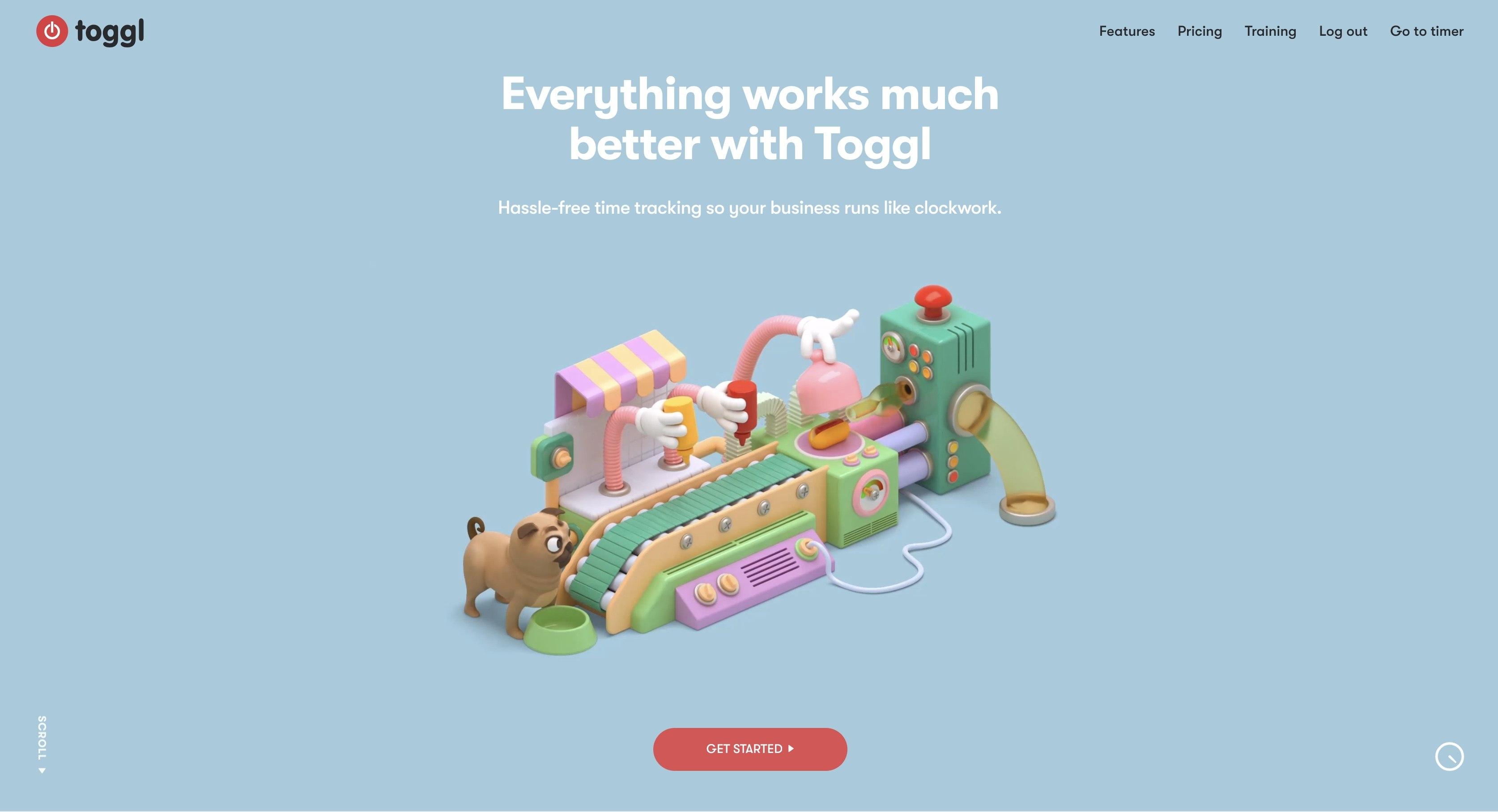 team leader tools Toggl