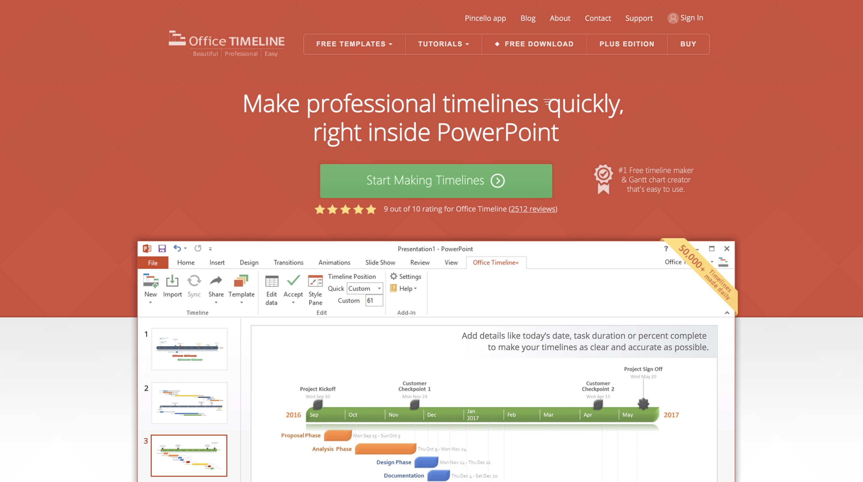 the best timeline maker for every type of project