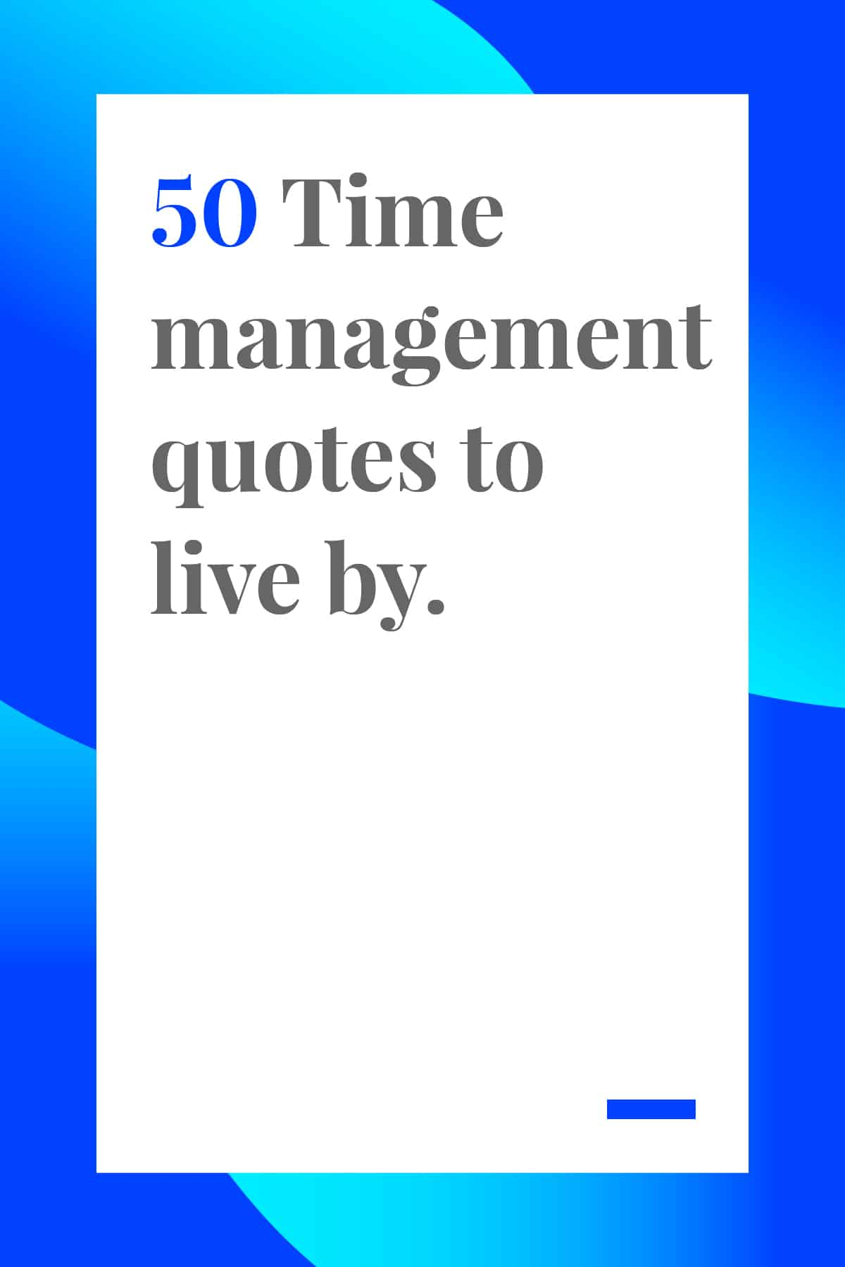 These 50 time management quotes will help you make the most of your busy days. Pin now and read later. #timemanagement
