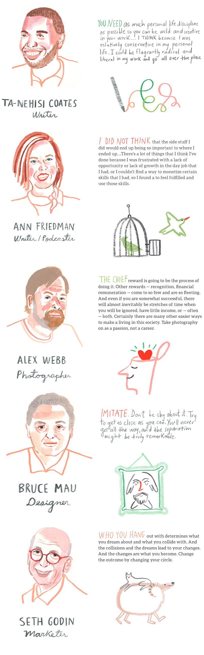 Advice From Sucessful Creatives 3