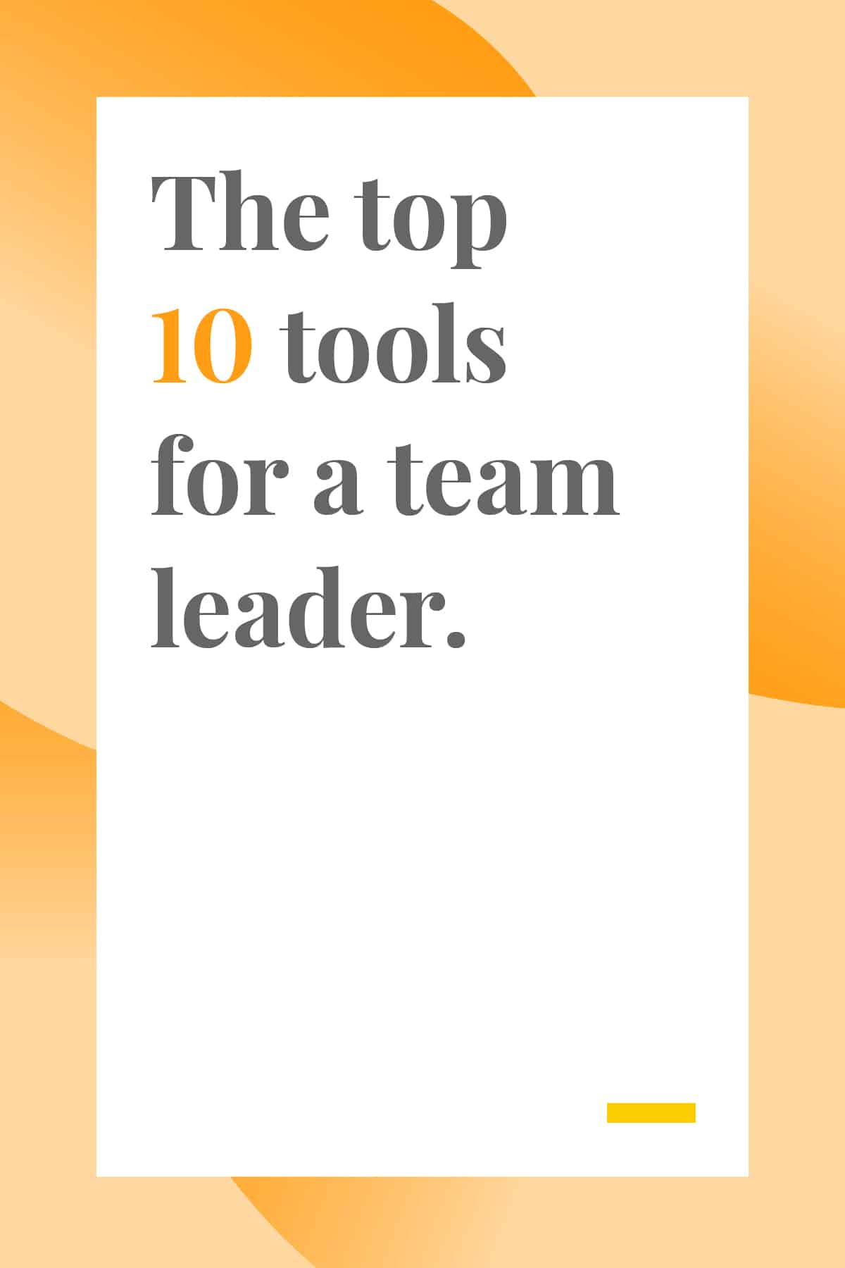 If you're a team leader, don't miss this list of essential leadership and planning tools. Get your team organized and improve productivity with these 10 tools. #leadership #businesstools