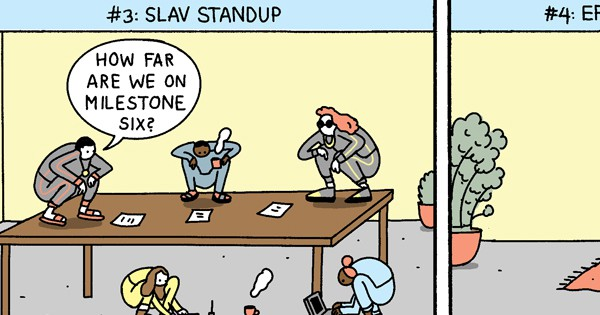 Snippet of 10 Workplace Trends You Will See in 2018 Comic