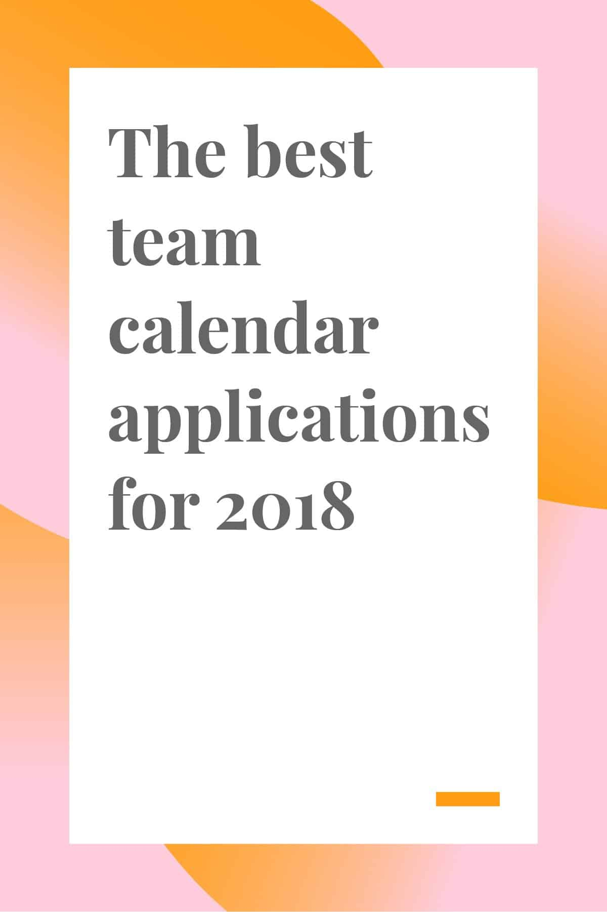 If you want to improve your productivity, and plan your tasks and manage your team more easily, you need a team calendar application that can handle all your scheduling needs.  To help you find the best team calendar app, we've compiled a list of options and reviewed them for you. Click through and read now! #teamcalendar #manager