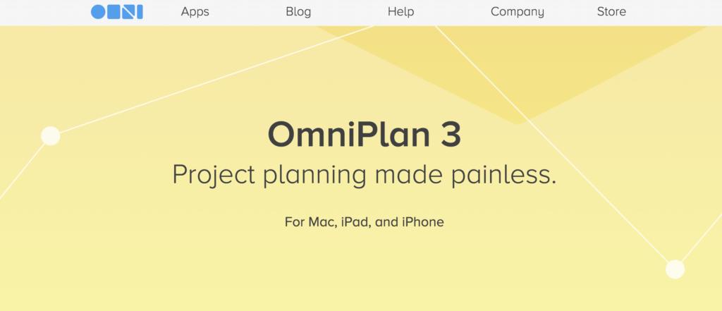 Omniplan - Gantt chart software for Mac