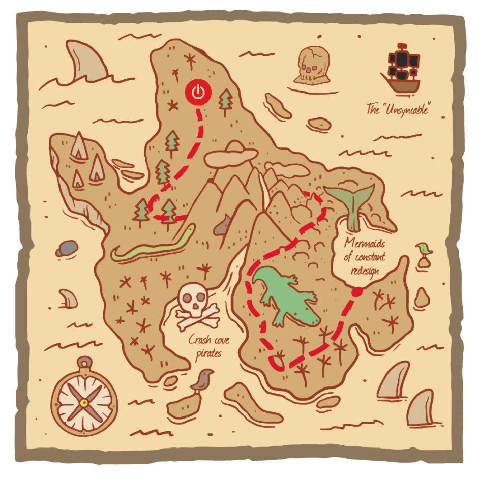 Toggl Map Treasure