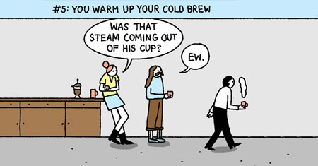 A snippet of 10 Signs The Startup You Work For Is Too Hip For You Comic
