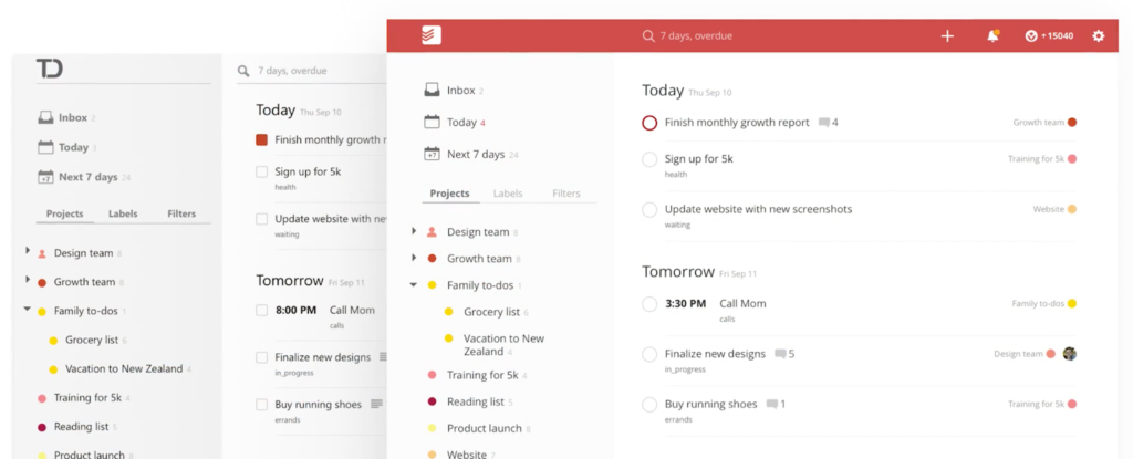 Todoist - simple project management software