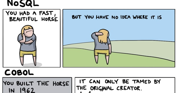 Snippet of How to Build A Horse with Programming comic