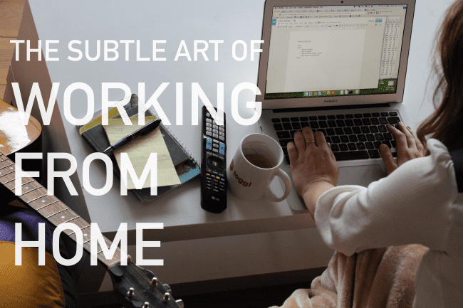 tips for working from home toggl blog. Black Bedroom Furniture Sets. Home Design Ideas