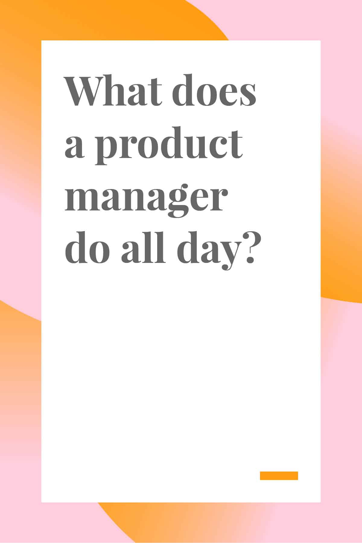 A product manager, not to be confused with a project manager, handles the creation and growth of a product. Click through to read more about this career. #productmanager #productmanagement