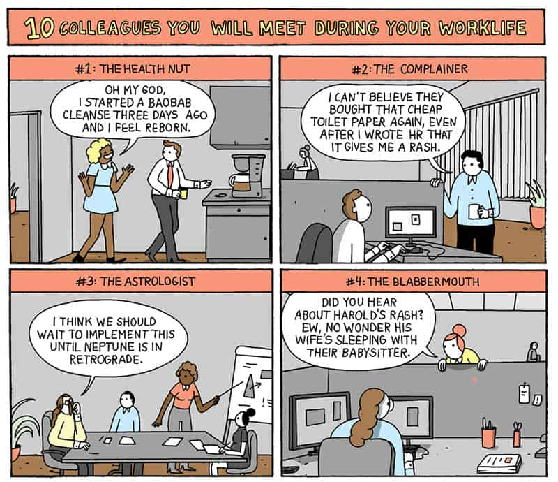 Warandpeas-comic-small1-10-colleagues-you-will-meet-work