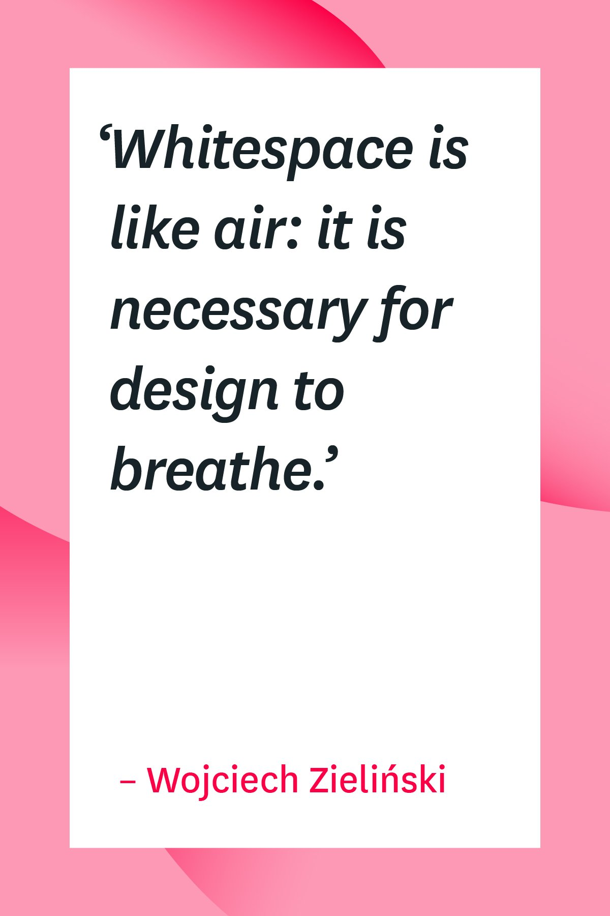Get inspired with 101 design quotes that will spark your creativity. #design